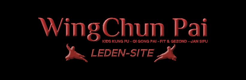 Wing Chun Pai - Ledenwebsite